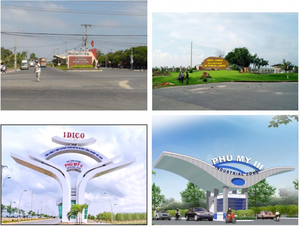 Một số khu công nghiệp gần dự án