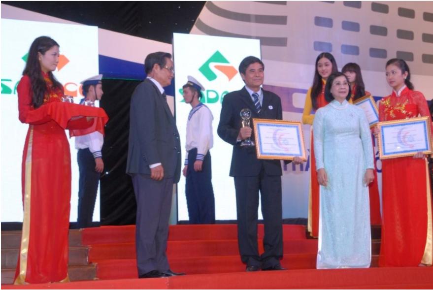 Lễ trao giải thưởng cho dự án Gold City