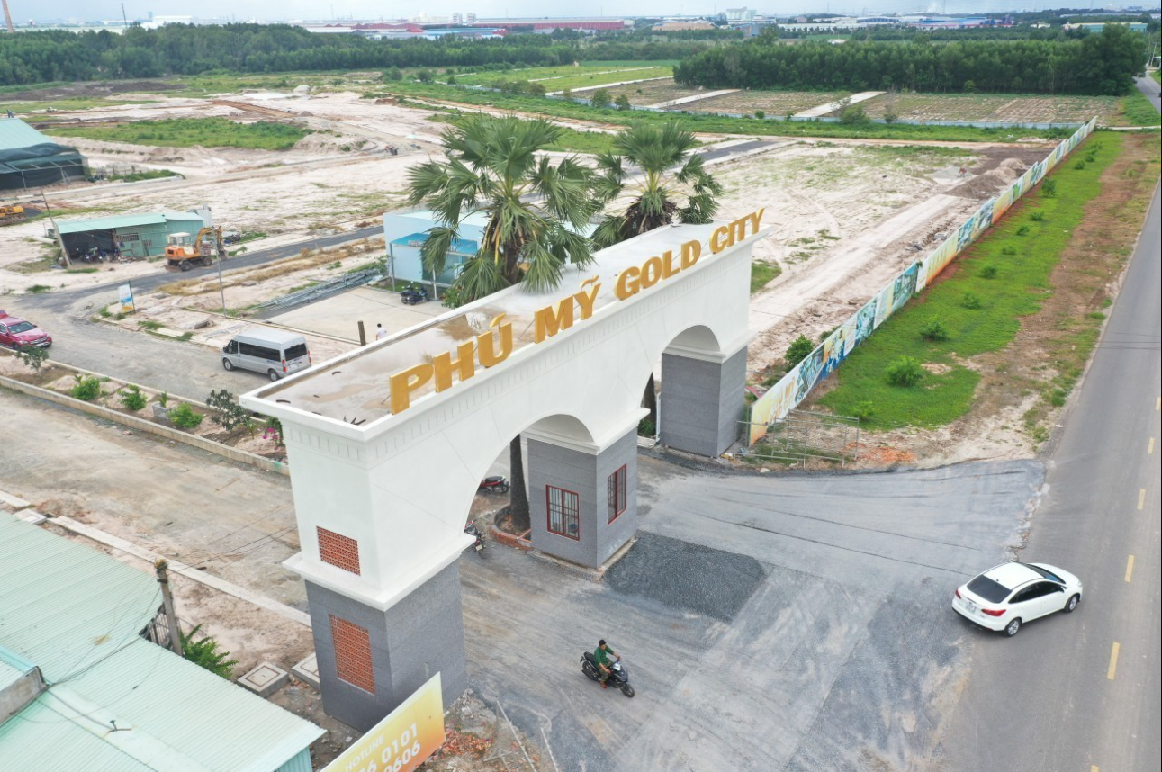 Tiến độ công trình dự án Phú Mỹ Goal City